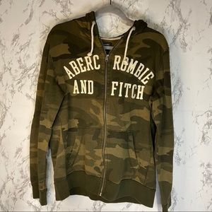 Abercrombie camouflage hoodie